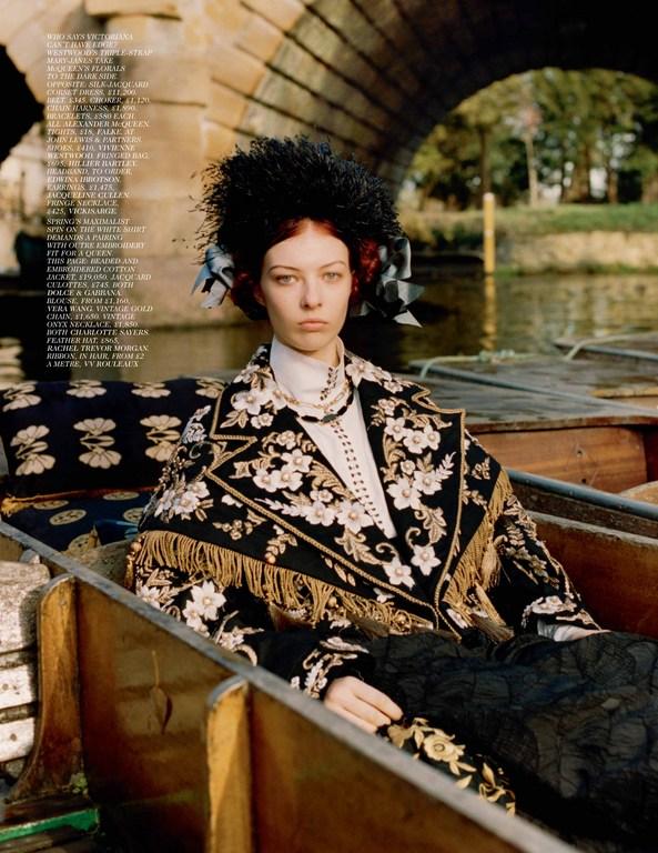 4d33c6779fea56 British Vogue, Portrait of a Lady